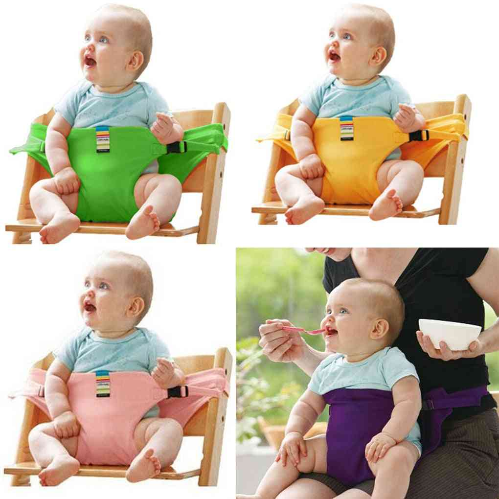 Portable Safety Baby Chair Harness Travel Foldable Washable High Dinning Cover Seat