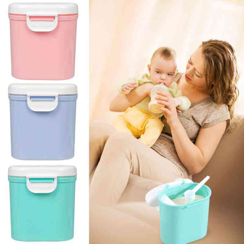 Portable Baby Food Storage Box With Spoon