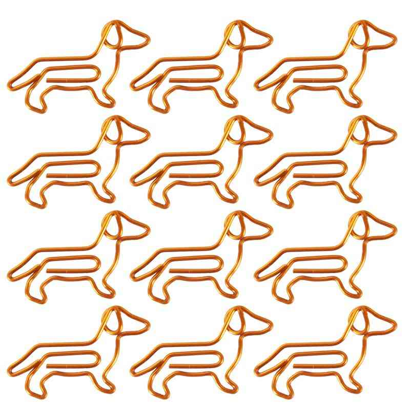 Dachshund Dog Shape-metal Paper Clips