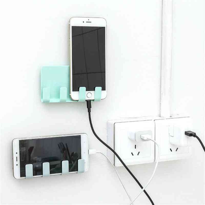Desk Set - Wire Organizer And Phone Stand