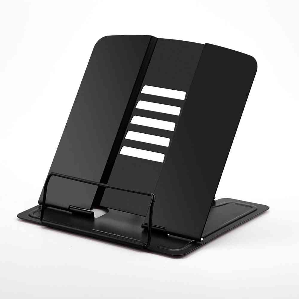 Portable With 5 Angles Adjustable Metal Bookstand/document Holder