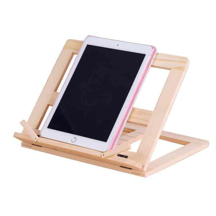 Wooden Frame Reading Bookshelf Bracket