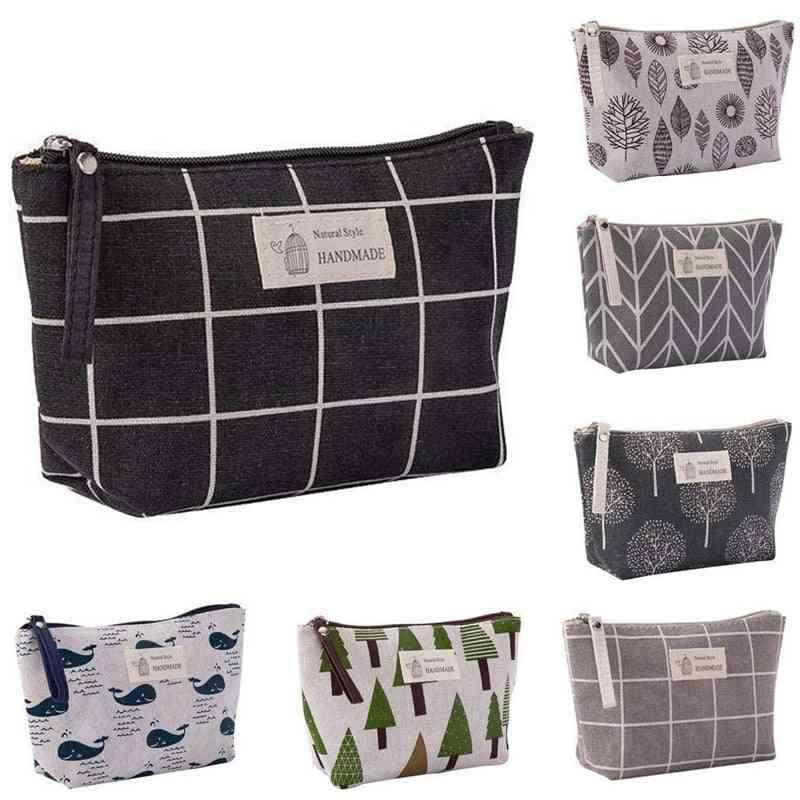 Storage Bag For Makeup, Diaper, Nursing Bottle