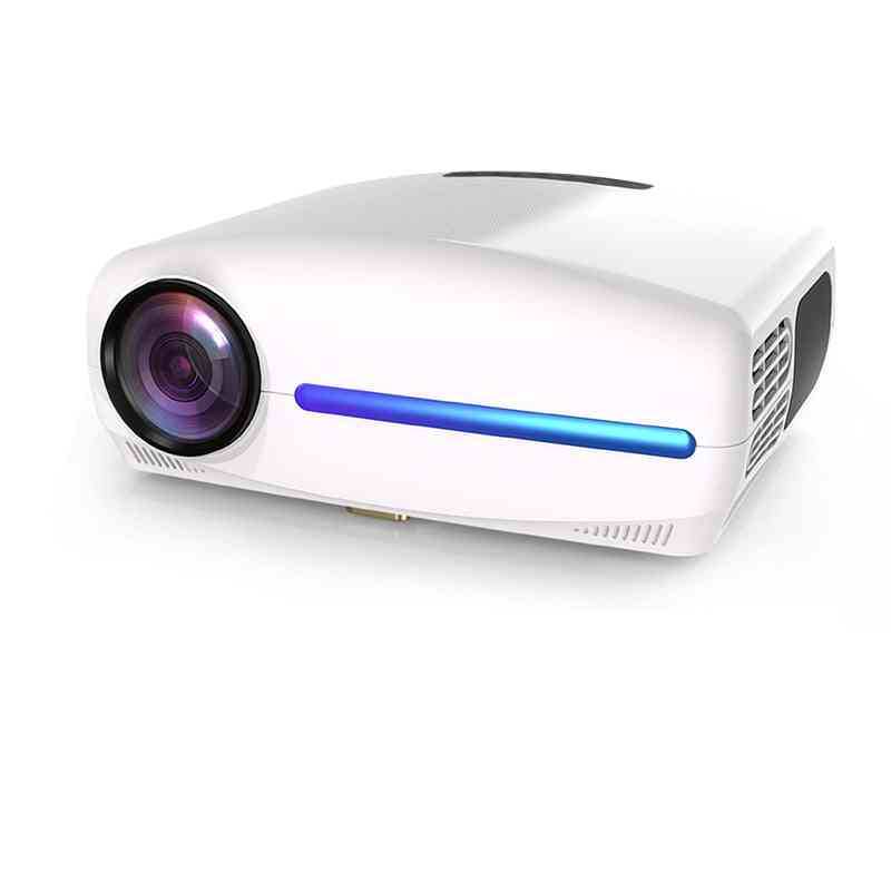 Full Hd 1080p Led Projector, 4k Video Android 9 Wifi Optional