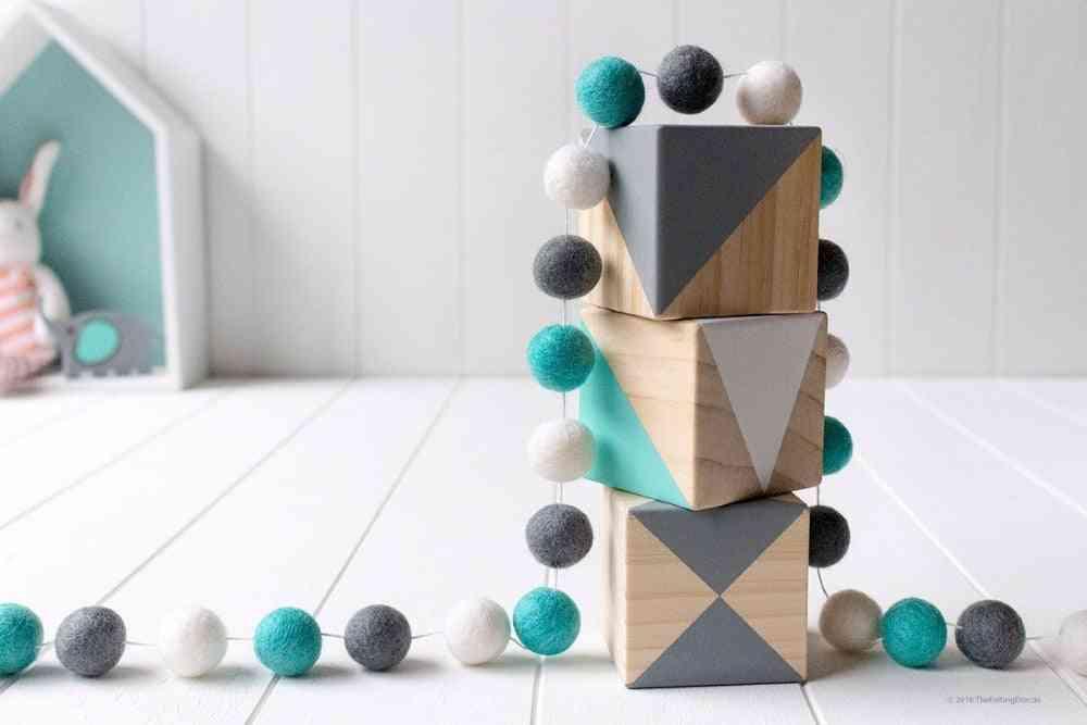 Handmade Macaron Ball Decoration With Balls, Wall Hanging Pendant
