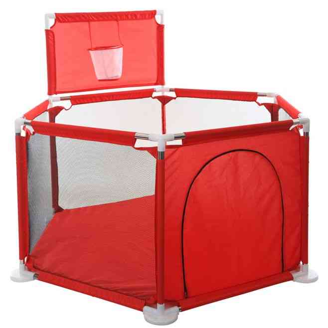Playpen Fence Folding Safety Barrier Playground Game Tent Shelter