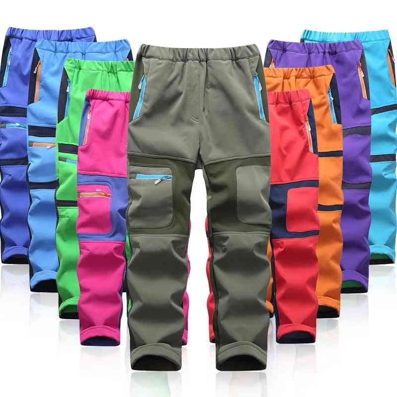 Waterproof & Pants, Warm Sport Climbing Trousers
