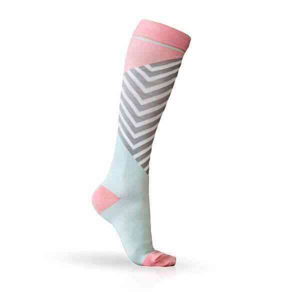 Compression Socks, Sports Men & Women Prevent Varicose Veins Nylon Anti-swelling