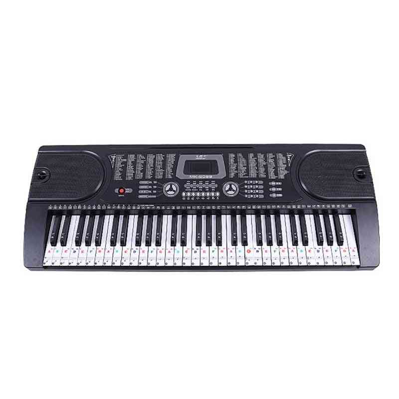 Piano Letter Notes Stickers Keyboard Hand Roll Notation