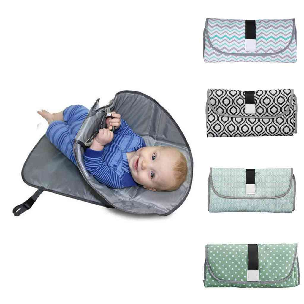Baby Changing Pads, Multifunctional Infant Foldable Urine Cover Mat