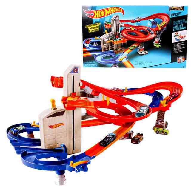 Roundabout Track For Electric Toy Car