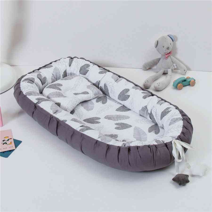 Portable Nest For Baby Lace Cradle Travel Cot