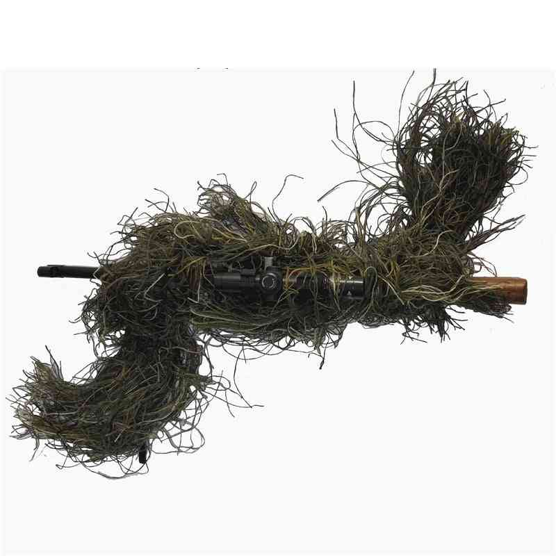 Hunting Rifle Wrap Rope, Grass Type Ghillie Suits Gun Stuff Cover