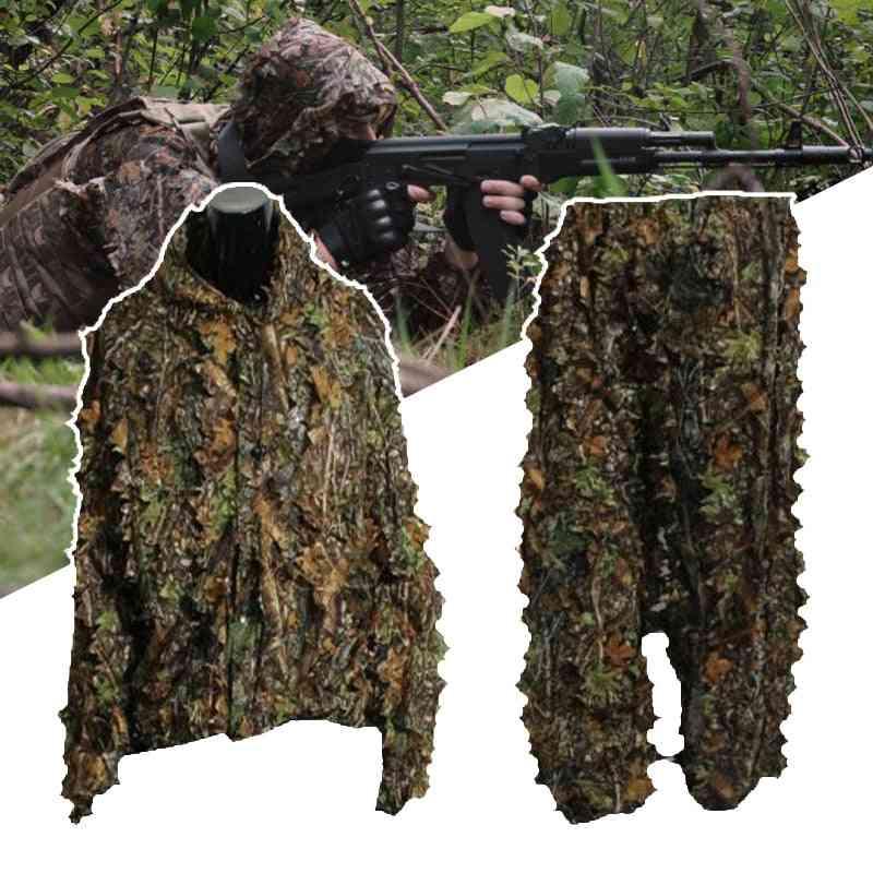3d Leaf Ghillie Suit