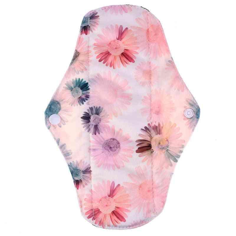 Reusable Waterproof Regular Flow Menstrual Sanitary Cloth Pads Bamboo Inner
