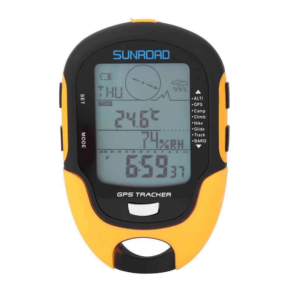 Multi-function, Handheld Digital Barometer-dual Navigation System