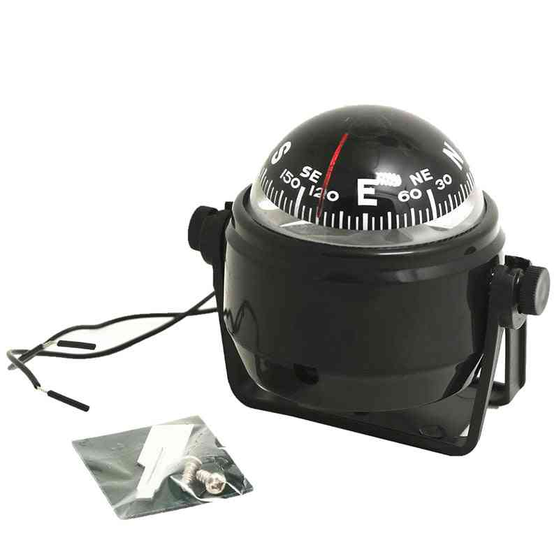 Electronic Marine Ball Night Vision Compass For Boat