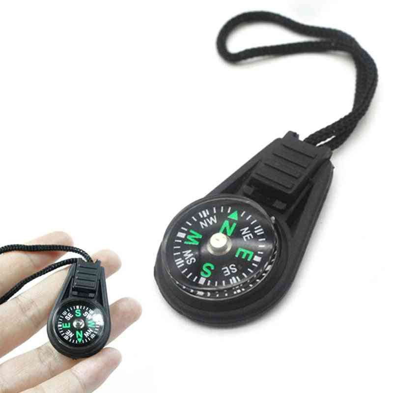 Mini And Portable Compass Survival Kit With Keychain