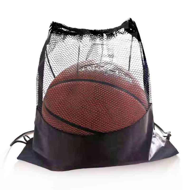 Portable Soccer Ball Storage Net, Organizer Multi-function Basketball Mesh Bags