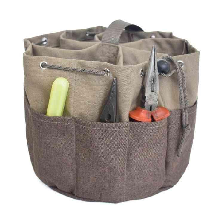 Multifunction Waterproof Canvas Hand Tool, Storage Carry Bags