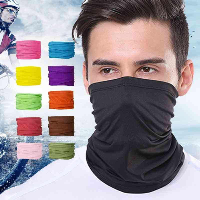 Multi-style Dustproof Head Band And Scarf/women