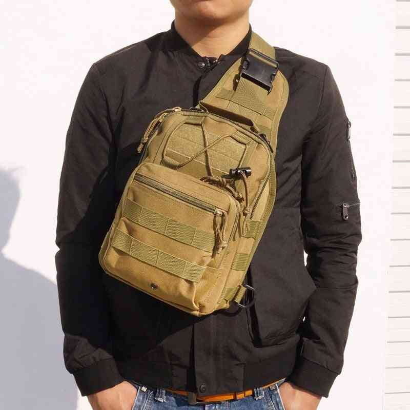 600d Military Tactical Shoulder Bag, Edc Outdoor Travel Waterproof Army Bags
