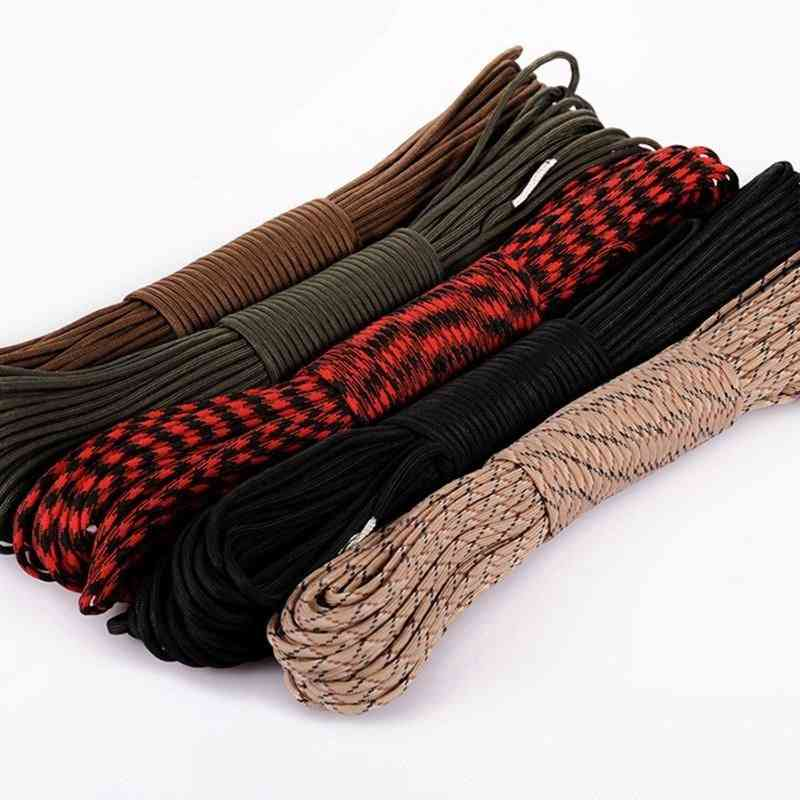Paracord Parachute Cord Lanyard Rope, Mil Spec Type-iii 7 Strand For Camping / Climbing