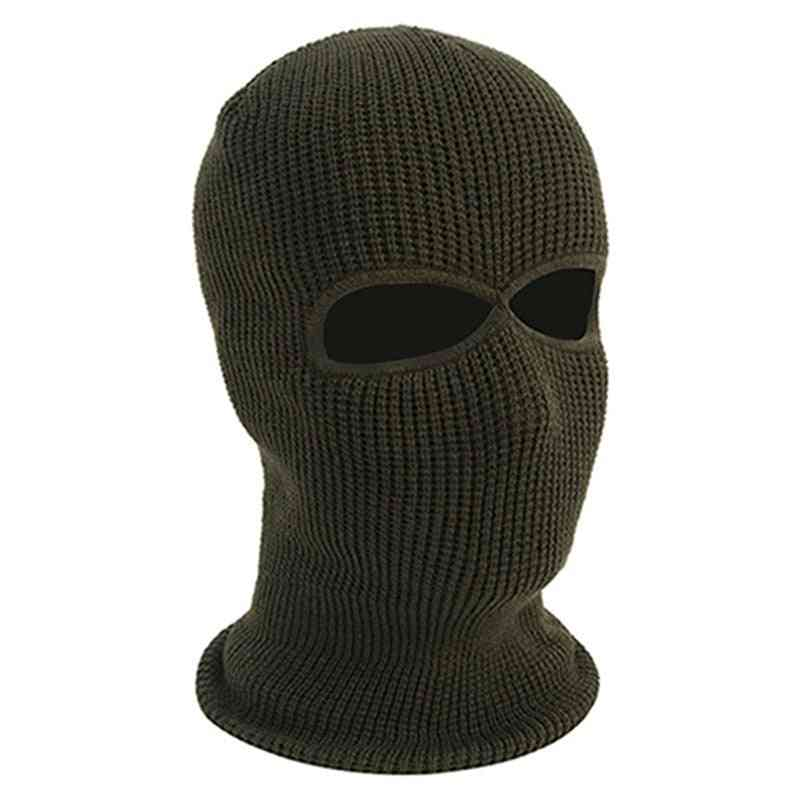 3 Hole Balaclava Hood Cap Full Face Mask