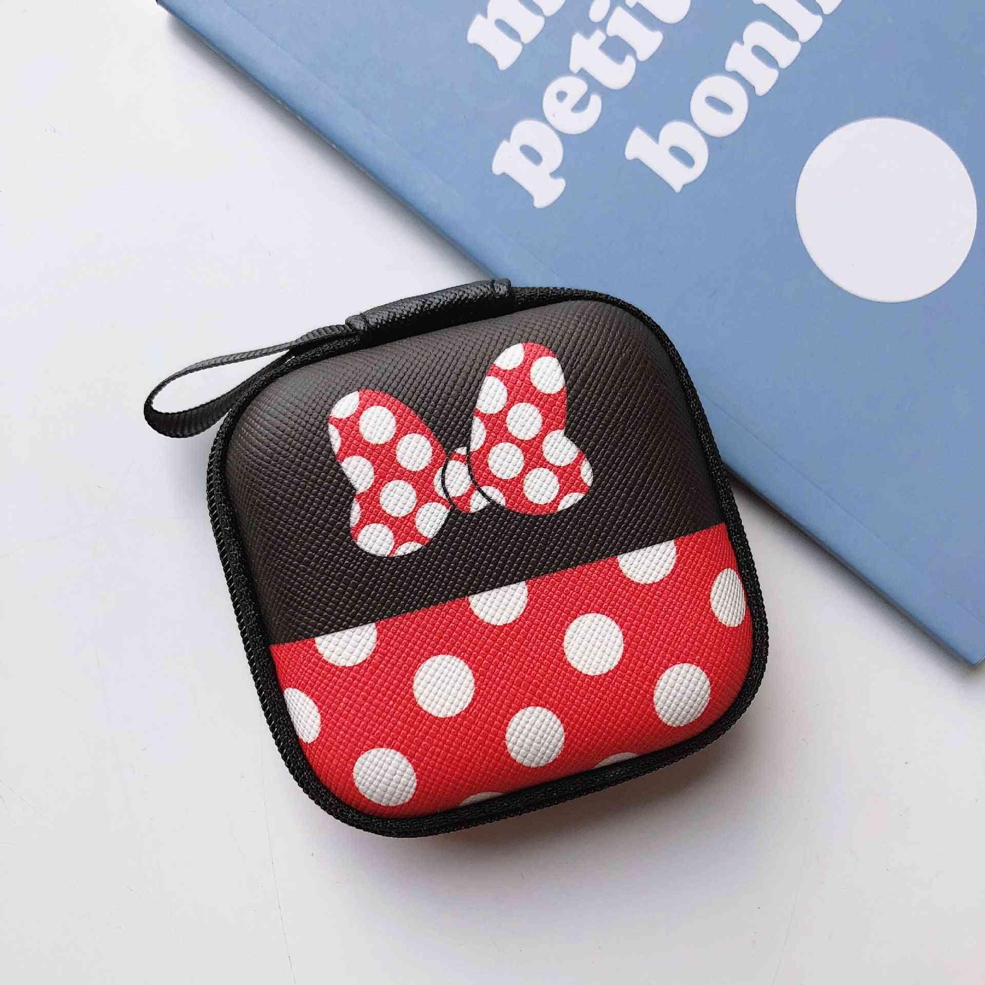 Mickey  And Minnie Cartoon Coin Purse