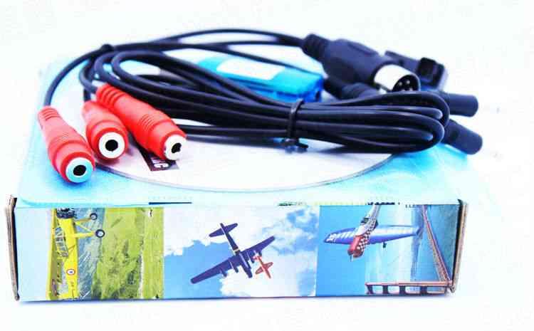 8 In1 Usb Flight Simulator Cable