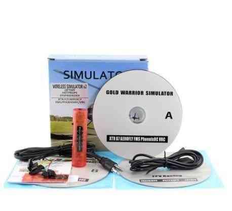 Wireless Rc Flight Simulator, V2 Realflight