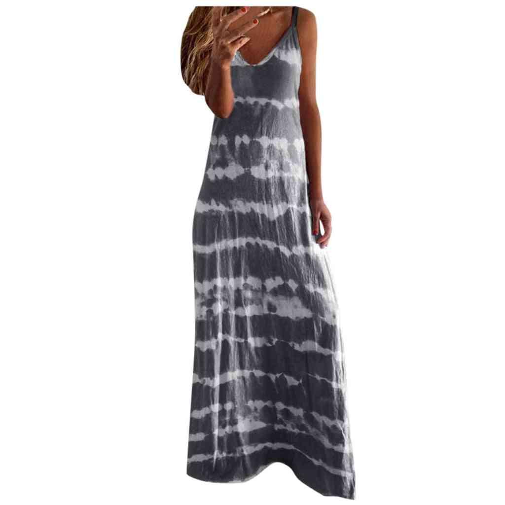 Vintage Sling Loose Dresses Women