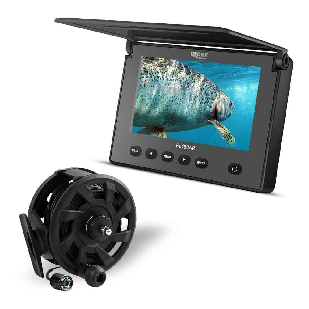 Underwater Fishing & Inspection Night Vision Camera, Waterproof Ip68 Cable For Ice/sea