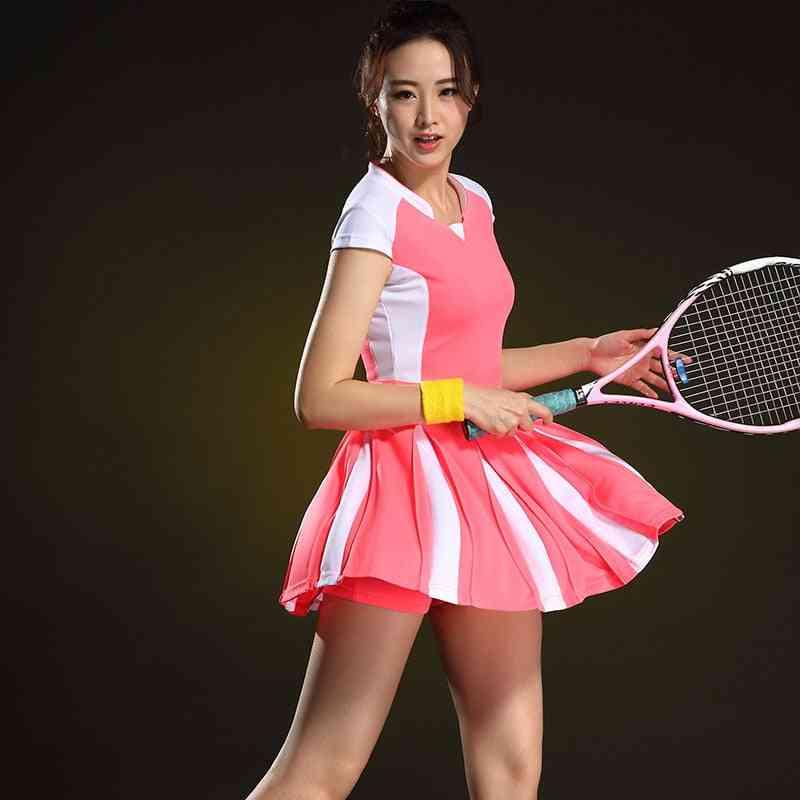 Short Sleeve Table Tennis Women's Dress