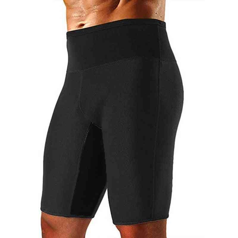 Mens Weight Loss Sauna Sweat Thermo Shorts, Summer Sports Pant