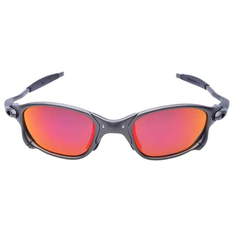 Unisex Polarized, Alloy Frame Goggles