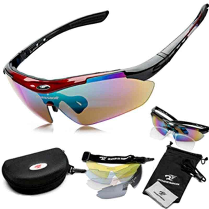Cycling Polarized Eyewear Glasses Bicycle Sunglasses, Mountain Road Men & Women Equipment