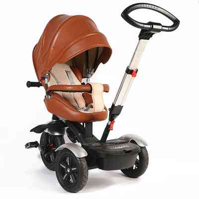 Multi-function Children's Tricycle, High-end Rotating Trolley