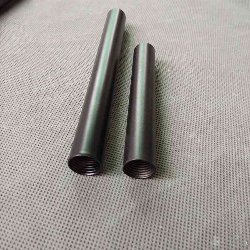 Female Thread Painted Metal Hollow Tube For Floor Lamp