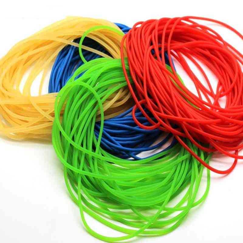 Solid Elastic Rubber Line For Fishing