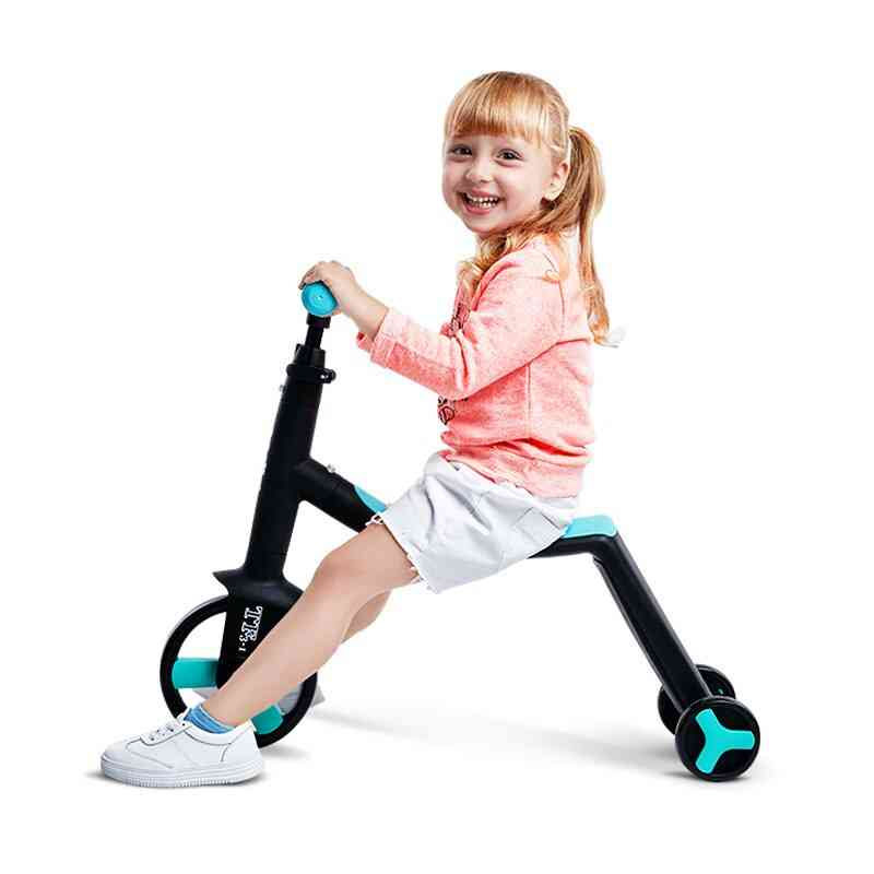 Children's Scooter And Tricycle Folding For Traveling