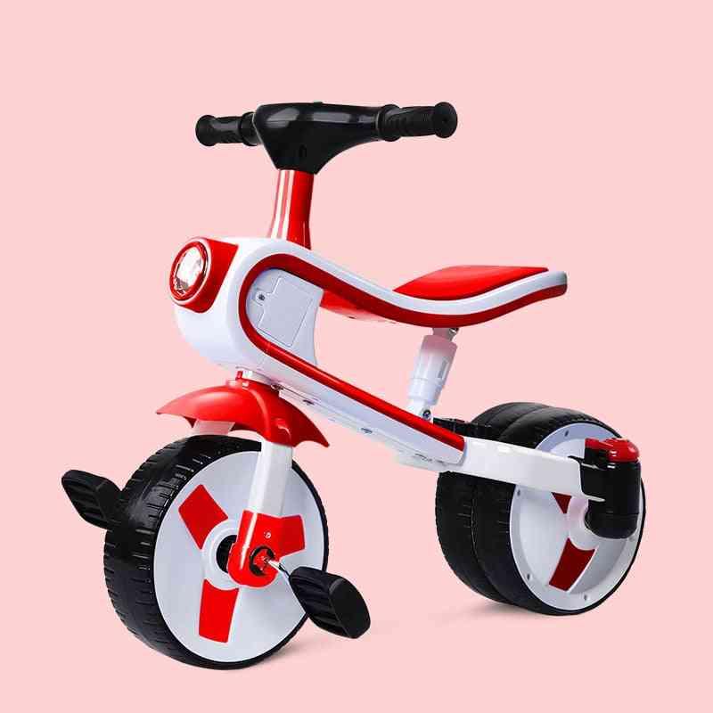Children's Large Tricycle / Bicycle, Balance Bike Easy Folding Cart Three Wheel Stroller