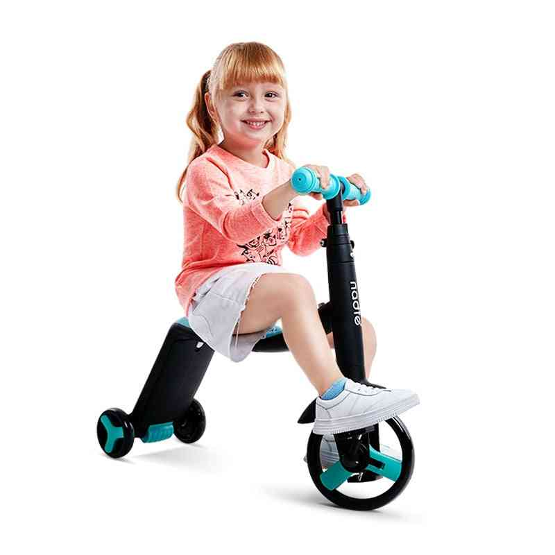Children Scooter 3 In 1 Slide Tricycle, Three Wheel Baby Blance Car