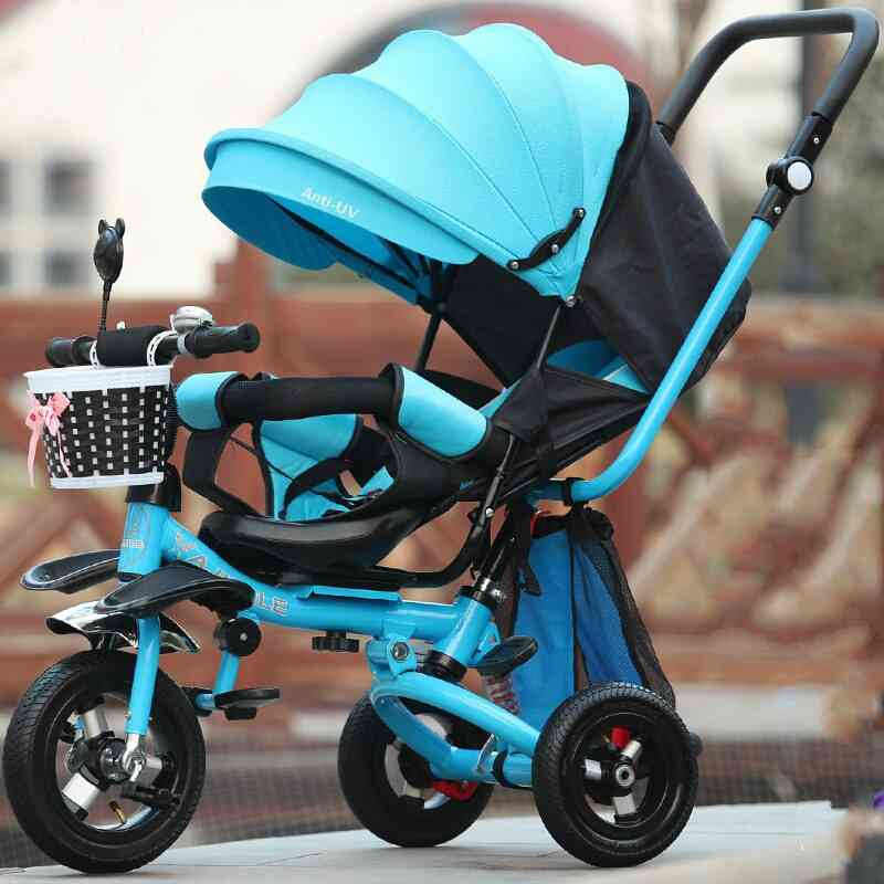 Baby Tricycle, Bike 3 In 1 Flat Lying Baby-carriage Stroller Trike