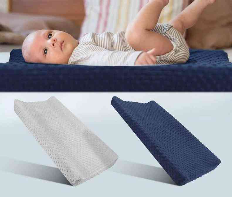 Soft Reusable Diaper Changing Pad Cover, Polyester Foldable Travel Mat Sheets