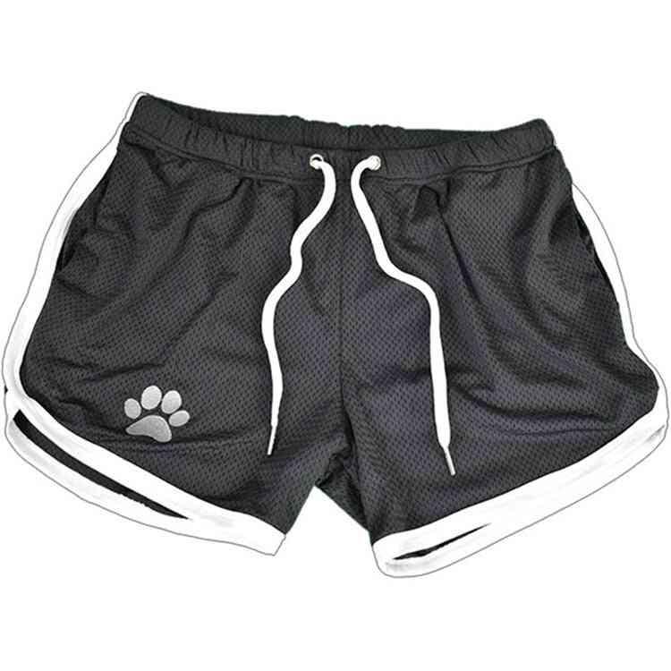 Mens Gym Fitness Shorts, Summer Cool Breathable Mesh Men Short Sweatpants