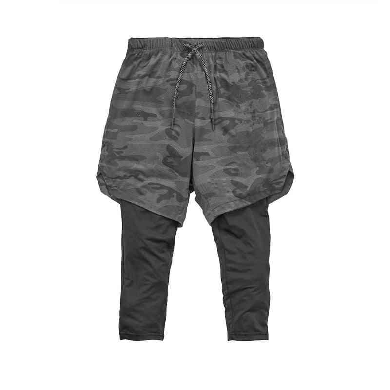 Men / Women Double Layer Pants