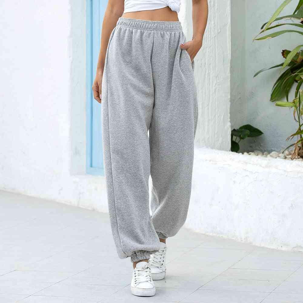 Women Casual High Waist Hip Hop Harem Pants