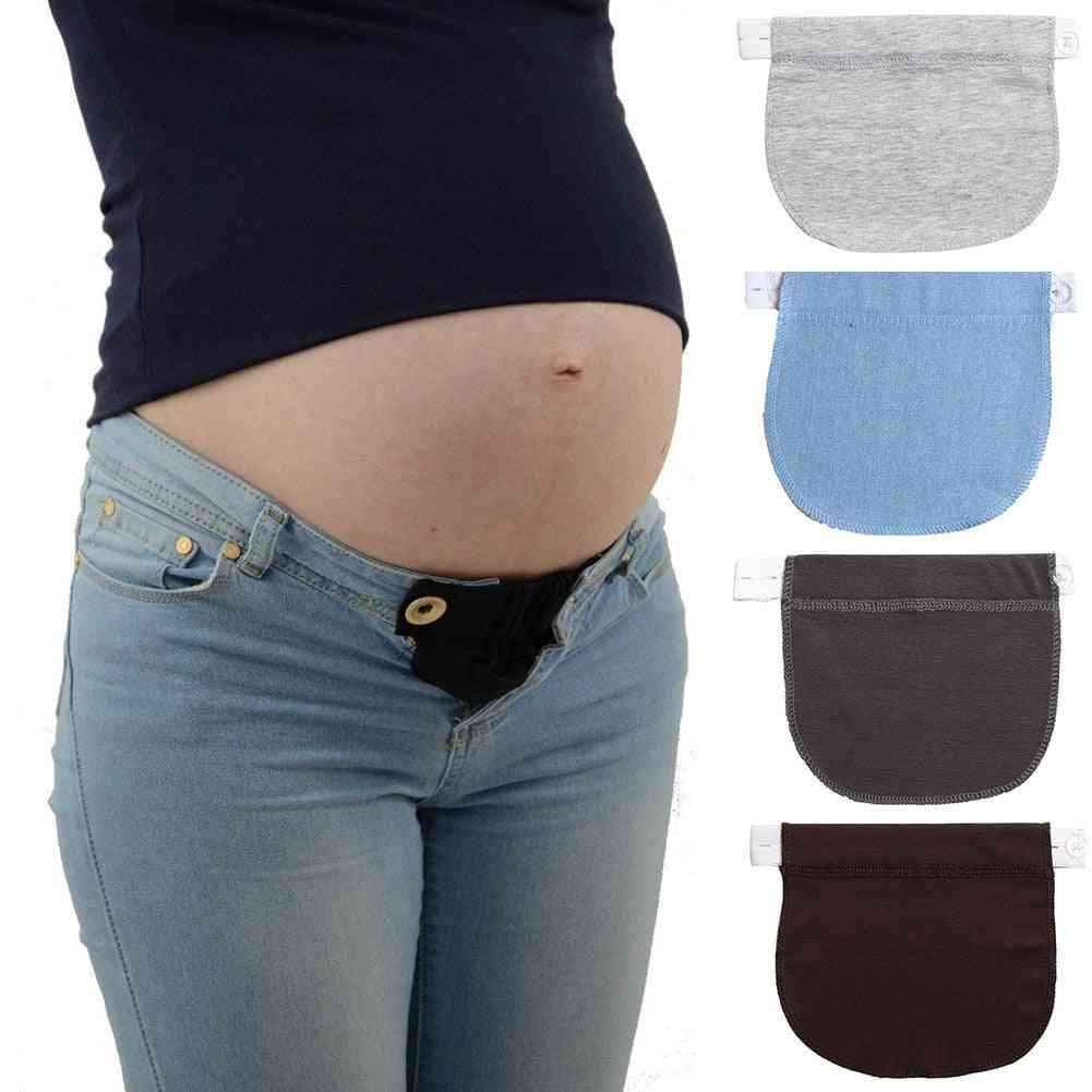 Adjustable Elastic Maternity Pregnancy Waistband Belt Extender For Pants