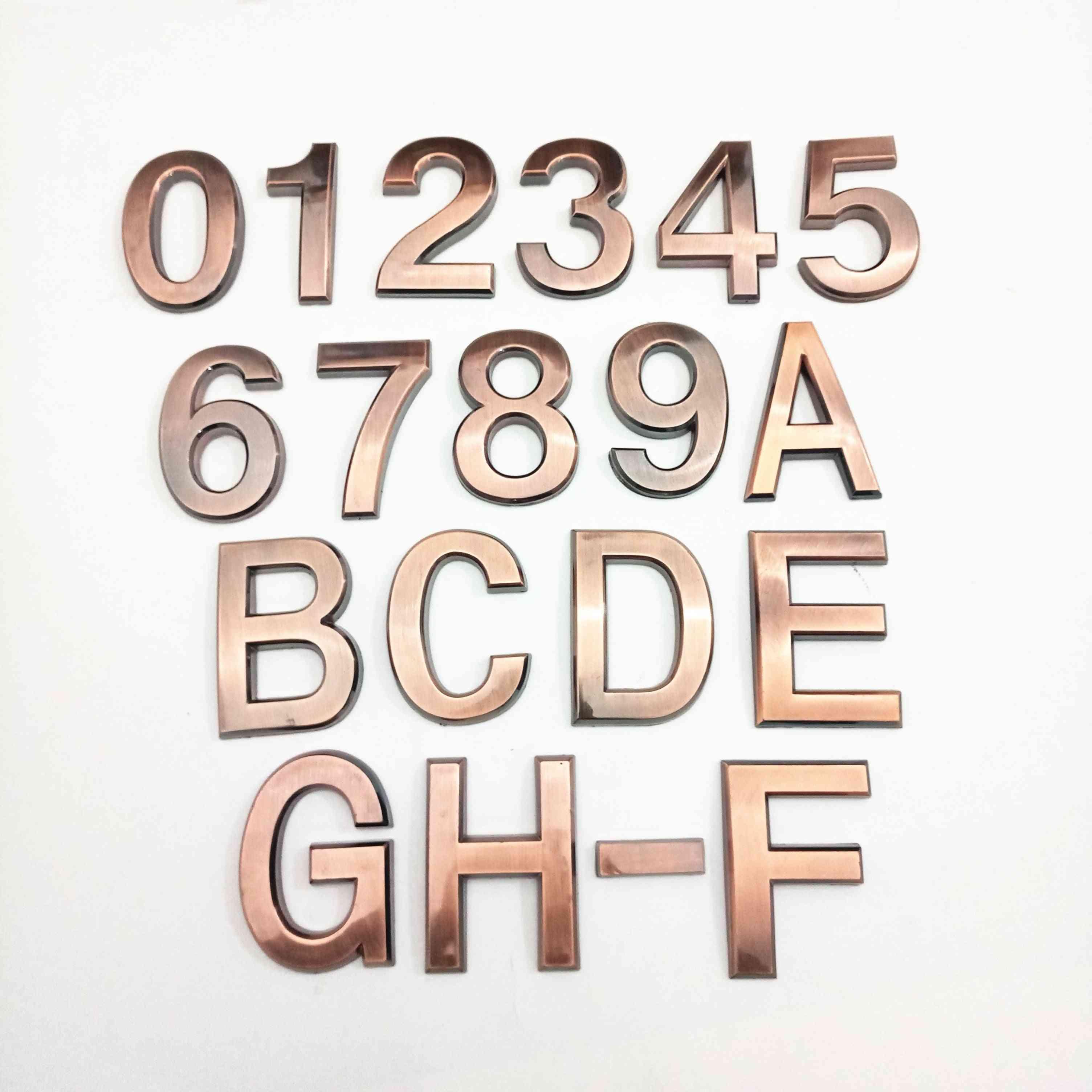 Abs Plastic Plaque Number Door Plate